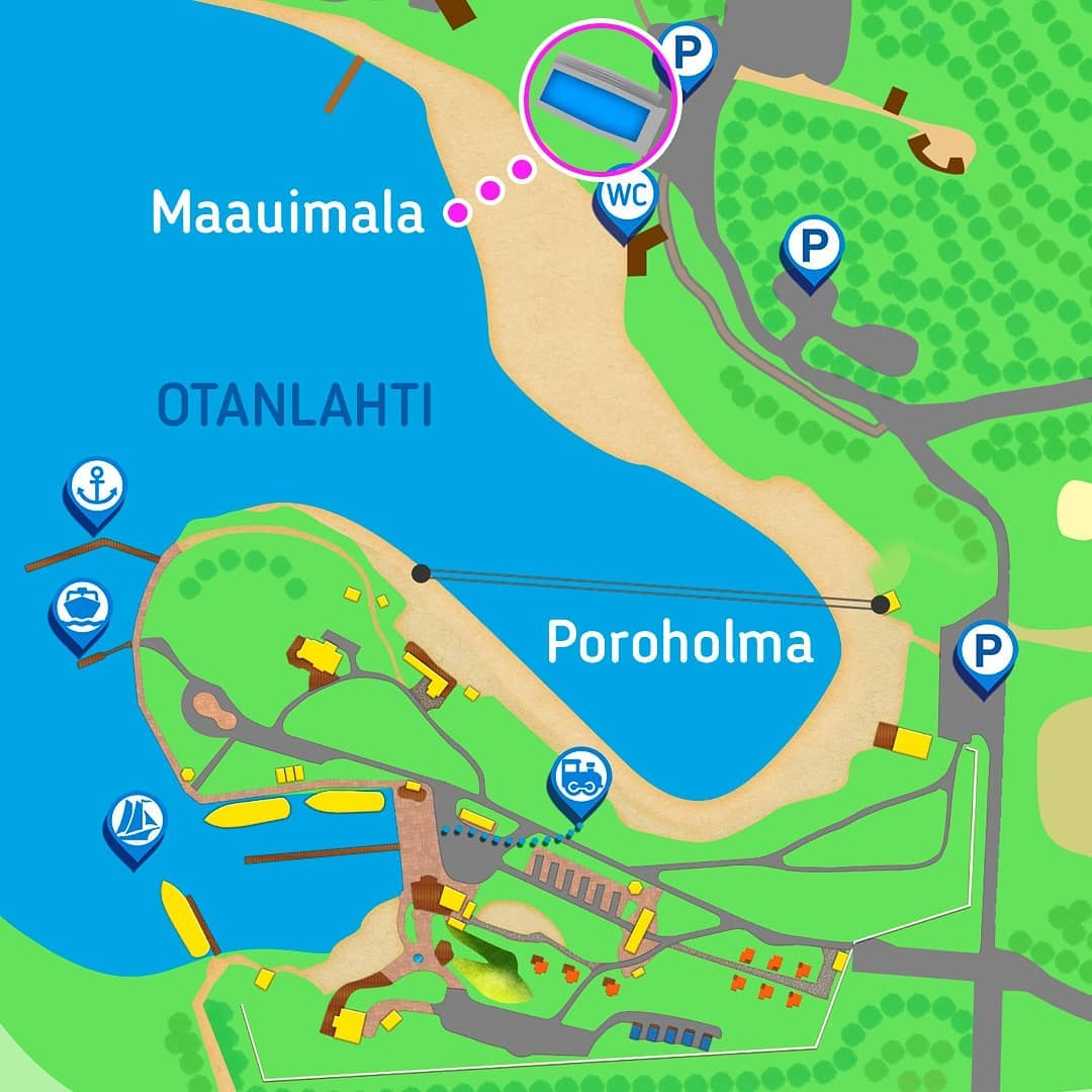 Poroholma Area map