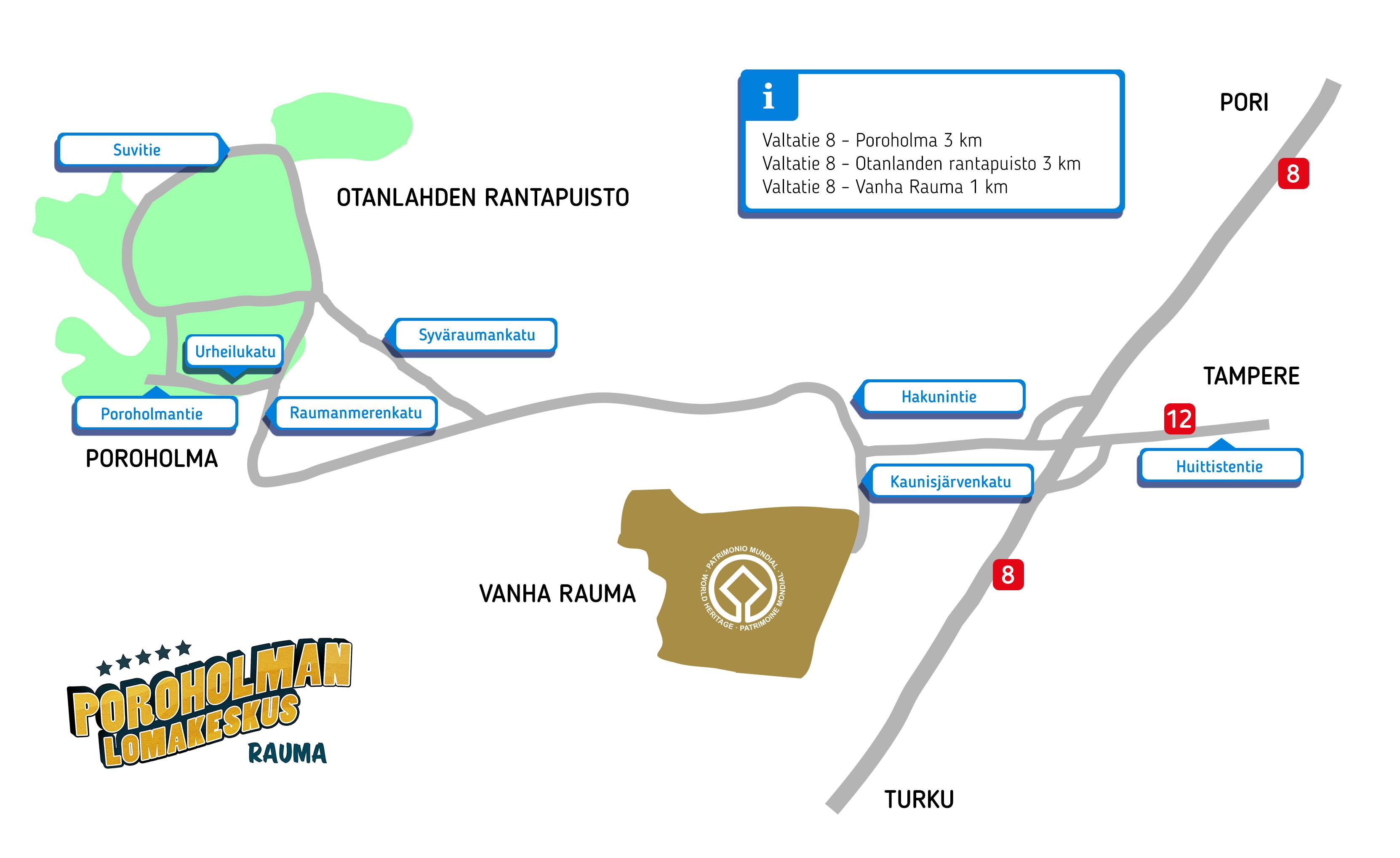 Poroholma Area map